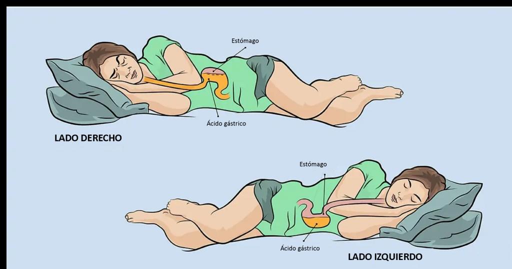 Por que dormir del lado izquierdo
